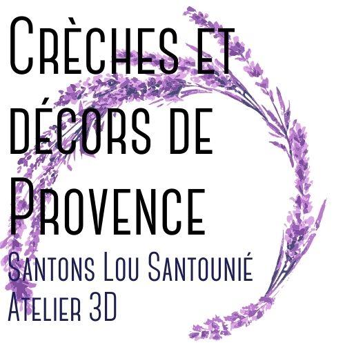 Crèche décor Provence
